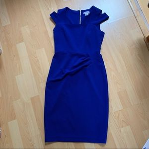 Blue Calvin Klein dress